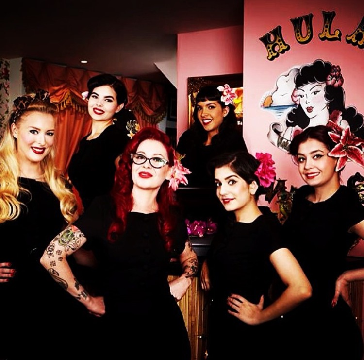 Employees of Hula Nail Salon Photo Credit: Instagram @Hulanails